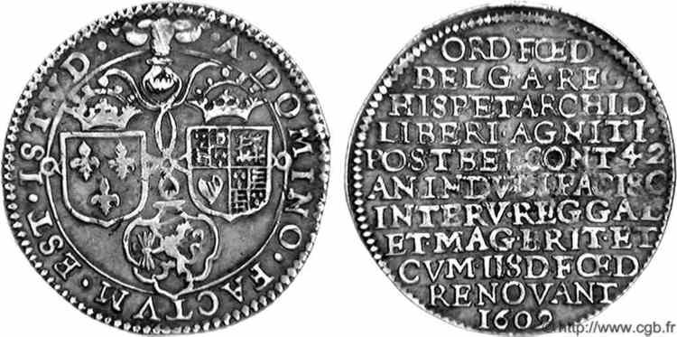 Jeton Archiduques Alberto e Isabel, Paises bajos 160¿2/9? V05_1244