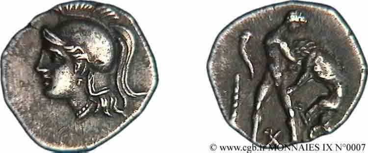 N° v09_0007 Diobole - c. 270-250 AC.