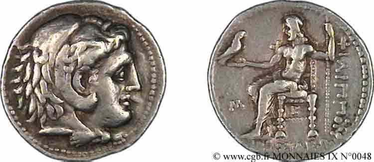N° v09_0048 Tétradrachme - c. 323-317 AC.