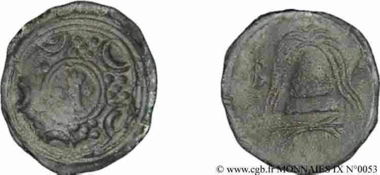 N° v09_0053 Bronze Æ 17 ou demi-unité - c. 288-277 AC.