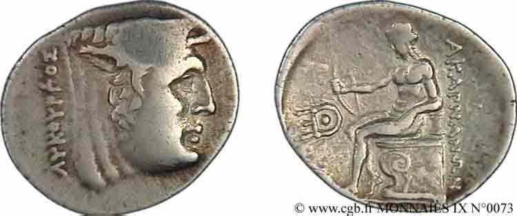 N° v09_0073 Statère ou double victoriat - c. 196-167 AC.