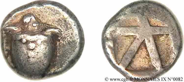 N° v09_0082 Statère - c. 480-457 AC.