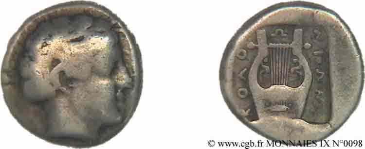 N° v09_0098 Sicle ou drachme - c. 430-400 AC.