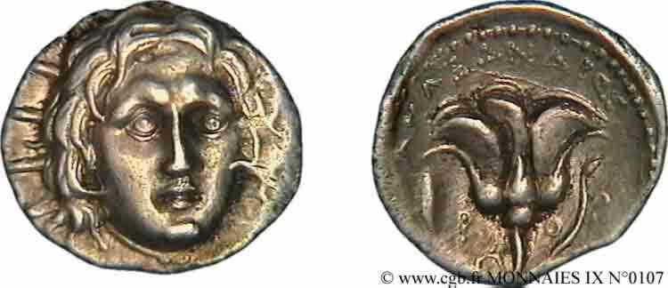 N° v09_0107 Didrachme - c. 230-189 BC