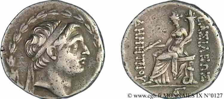 N° v09_0127 Tétradrachme - c. 162-156 AC.