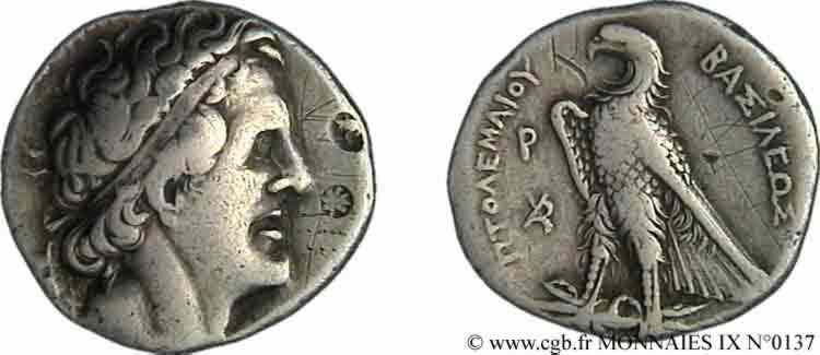 N° v09_0137 Tétradrachme - c. 289-288 AC.