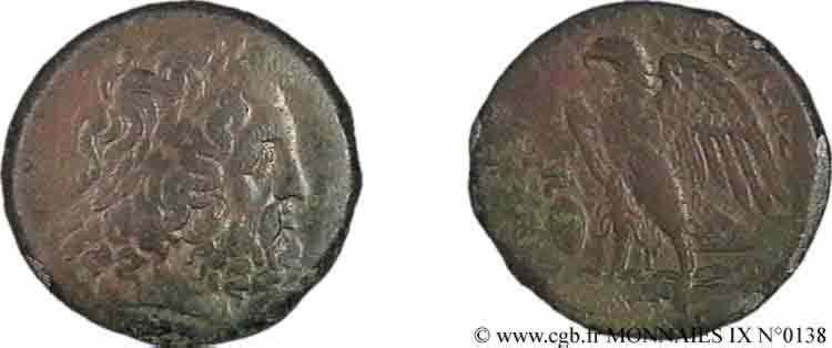 N° v09_0138 Bronze Æ 28 ou dichalque - c. 277 AC.
