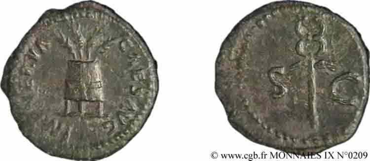 N° v09_0209 Quadrans, (PB Æ 16) - 96-98