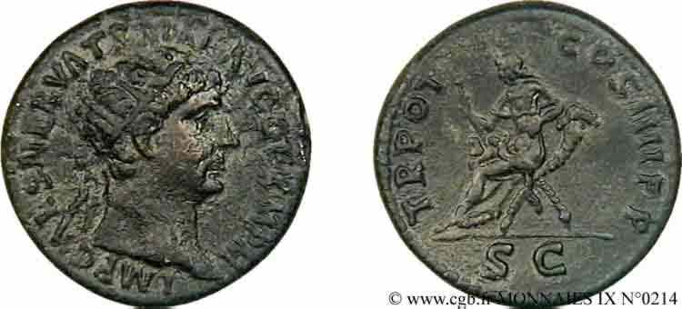 N° v09_0214 Dupondius, (MB, Æ 28) - 101