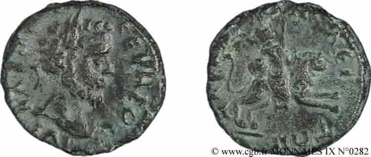 N° v09_0282 2 assaria, (PB, Æ 18) - c. 200