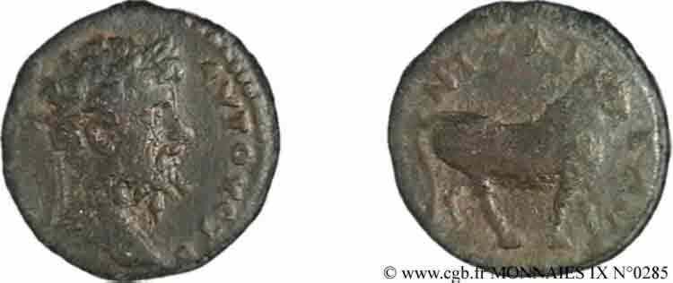 N° v09_0285 Assarion, (PB, Æ 15) - c. 200