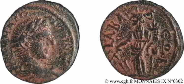 N° v09_0302 Assarion, (MB, Æ 23) - 211-217
