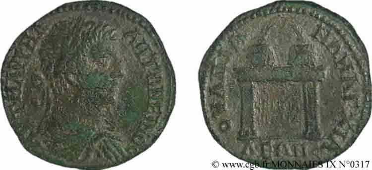N° v09_0317 4 assaria (MB, Æ 28) - c. 218-222