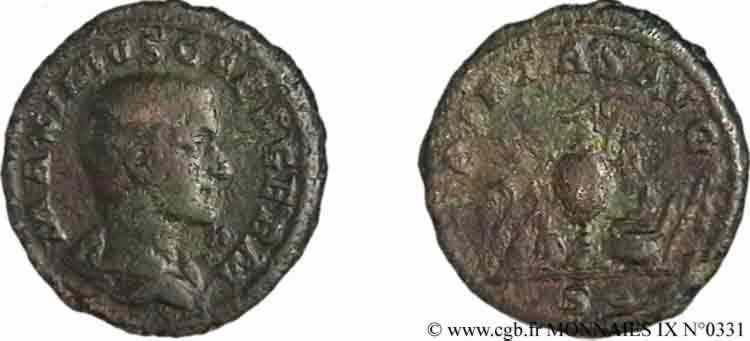 N° v09_0331 Dupondius, (MB, Æ 27) - 236-237
