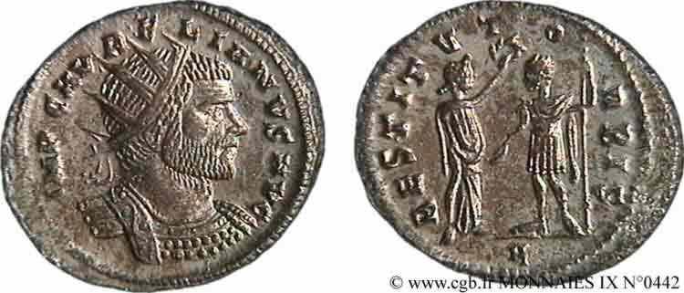 N° v09_0442 Antoninien - fin 272 - début 273