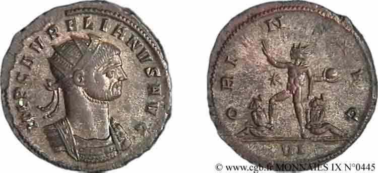 N° v09_0445 Antoninien - fin 273 - début 274