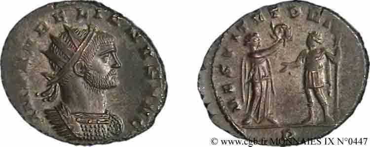 N° v09_0447 Antoninien - fin 271 - automne 272