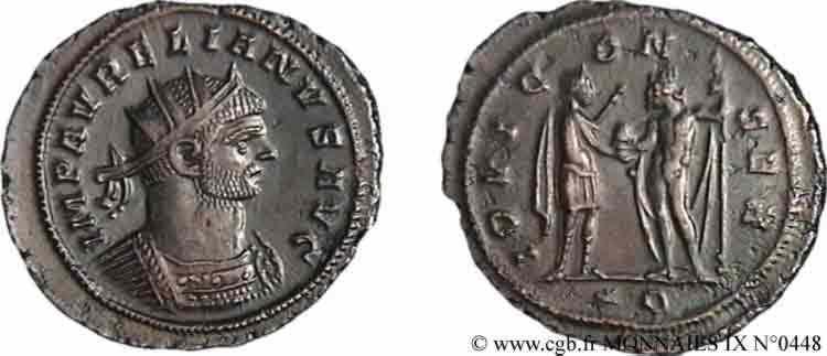 N° v09_0448 Antoninien - début 272 - été 273