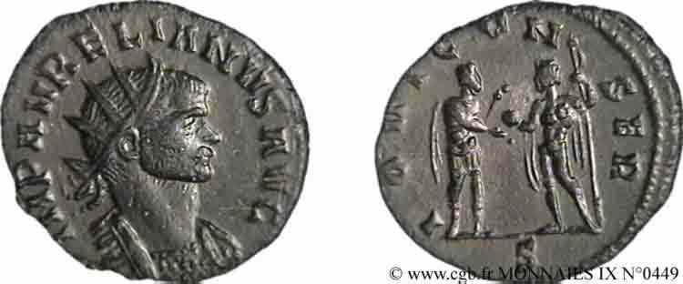N° v09_0449 Antoninien - automne 271 - été 273