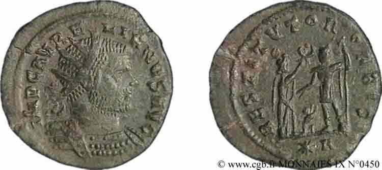 N° v09_0450 Antoninien - fin 272 - début 273