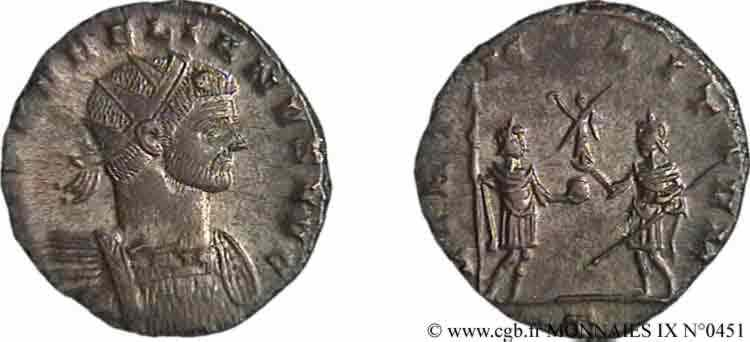 N° v09_0451 Antoninien - automne 272 - été 273