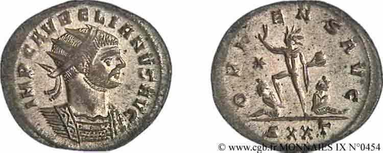 N° v09_0454 Aurelianus - 274