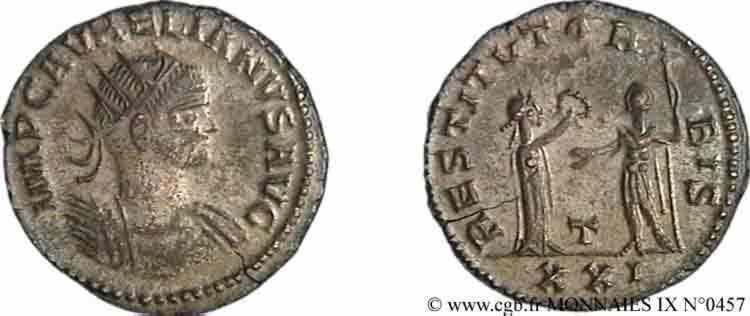 N° v09_0457 Aurelianus - 275