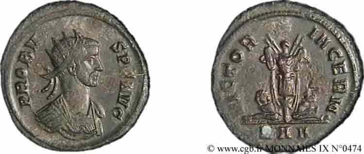 N° v09_0474 Aurelianus - 282