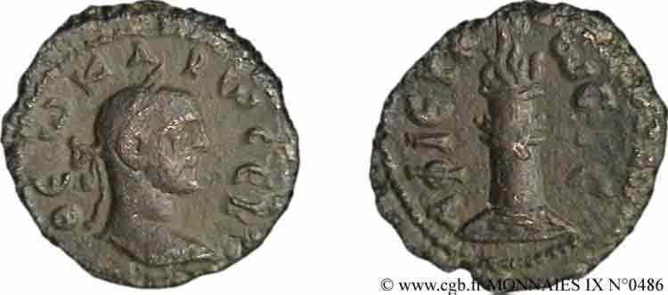 N° v09_0486 Tétradrachme, (MB Æ 20) - 283-284