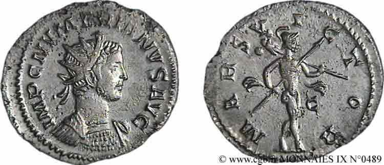 N° v09_0489 Aurelianus - 08/283-01/284