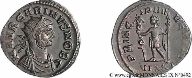 N° v09_0492 Aurelianus - 10/282