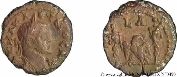 N° v09_0493 Tétradrachme (MB, Æ 18) - 282-283