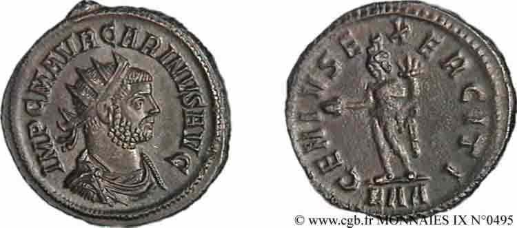 N° v09_0495 Aurelianus - 09/283-01/284