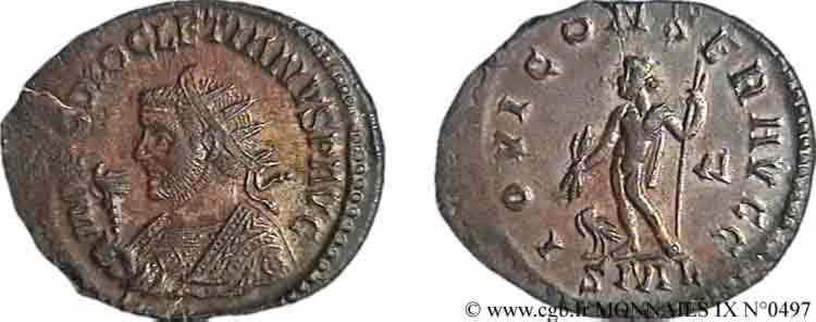 N° v09_0497 Aurelianus - été 287
