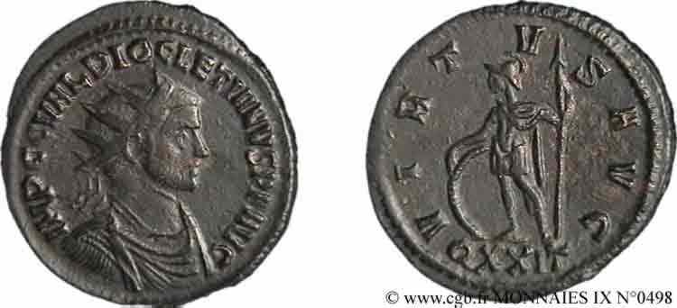 N° v09_0498 Aurelianus - 11/285-01/286
