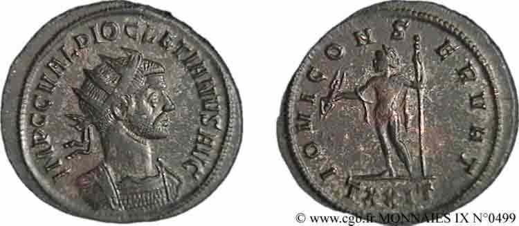 N° v09_0499 Aurelianus - 11/285-01/286