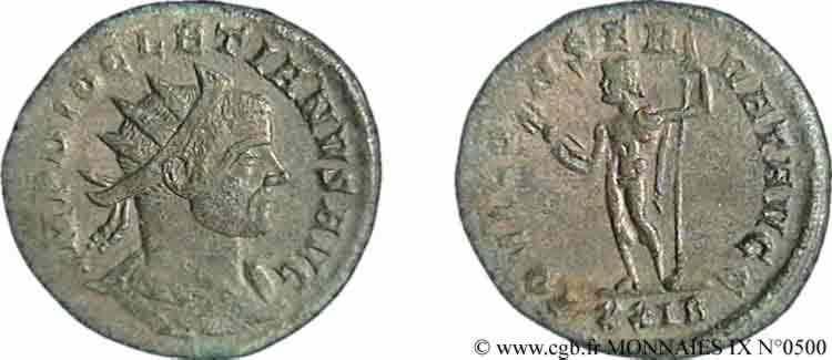 N° v09_0500 Aurelianus - 03/286-hiver 287