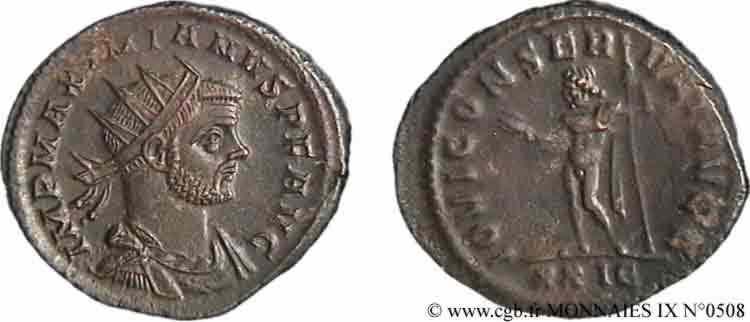 N° v09_0508 Aurelianus - 03/286- hiver 287