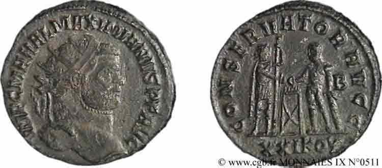 N° v09_0511 Aurelianus - 289-290