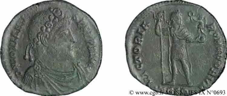 N° v09_0693 Double maiorina ou petit médaillon, (Æ 1) - 363-364