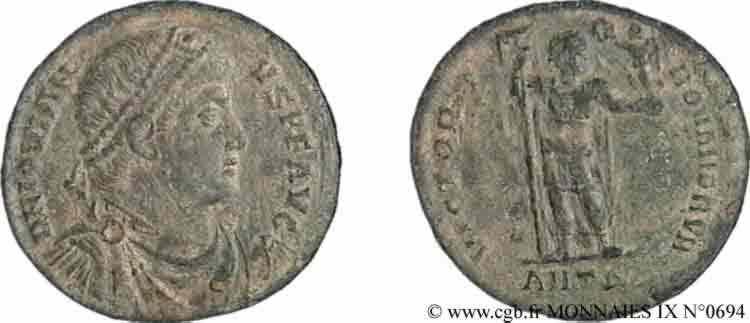 N° v09_0694 Double maiorina ou petit médaillon, (Æ 1) - 363-364