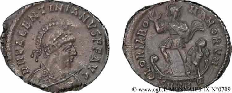N° v09_0709 Maiorina pecunia, (Æ 2) - 378-383