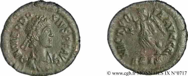 N° v09_0717 Nummus, (Æ 4) - 384-387