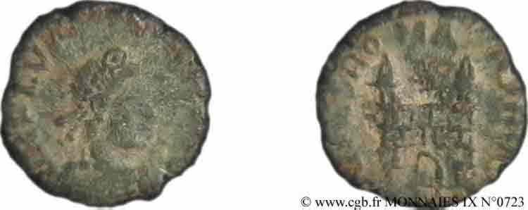 N° v09_0723 Nummus, (Æ 4) - 387-388