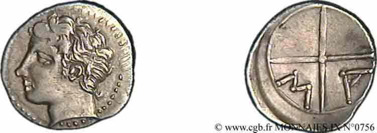 N° v09_0756 Obole - c. 300-250 AC.