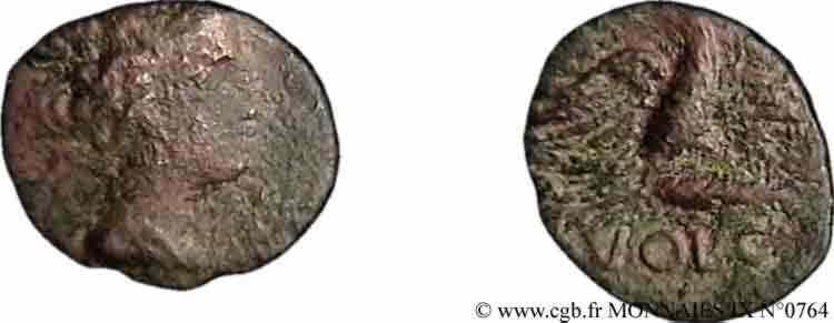 N° v09_0764 Bronze à l'aigle - c. 70-60 AC.