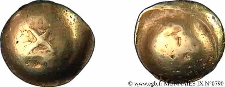 N° v09_0790 Statère globulaire à la croix - c. 100-80 AC.