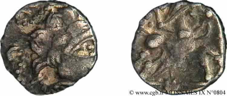N° v09_0804 Quart de statère à l'hippophore - c. 60-50 AC.
