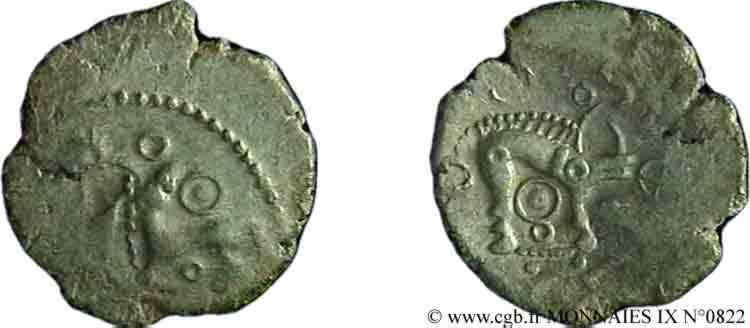 N° v09_0822 Bronze aux animaux affrontés - c. 60-50 AC.