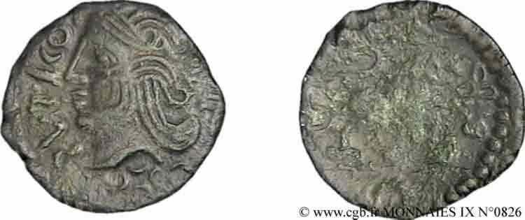 N° v09_0826 Bronze SVTICOS au lion - c. 50-40 AC.